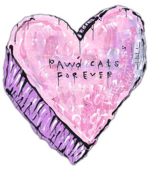 Paw'd Cats Forever by justinaerni