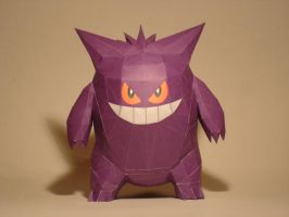 Gengar Papercraft Version 2 by Skele-kitty