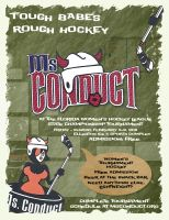 Hockey Tournament Poster by Llyzabeth