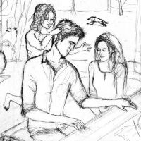 WIP - Edward Bella and Nessie by LittleSeaSparrow