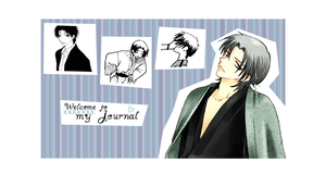 Shigure journal skin by heart--land