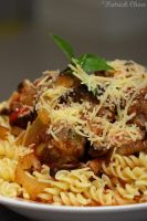 Meatball pasta by patchow