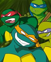 TMNT2k3 by HoveringAbout