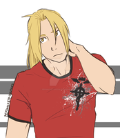 Edward Elric by Perfectlykawaii93