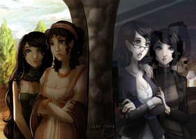 Collab: Regency to Today by JLMagian