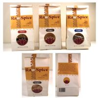 Raw Spice Packaging by SirenMelusine