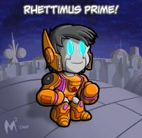 Commission - Rhettimus Prime by MattMoylan