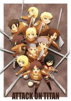 SNK: 104th Squad by CoolBlueX