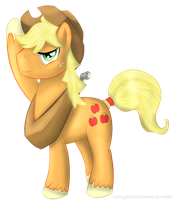 Mr. Applejack by Kaczyyy