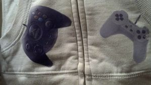 Controller hoodie by boredbabe90
