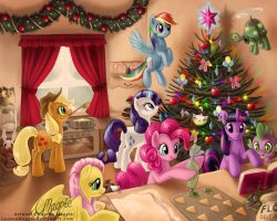 Hearth's Warming by LaurenMagpie
