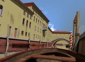 Venice from boat view by forgedOrder