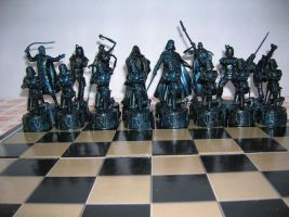 set of chess Star Wars3 by charlieest