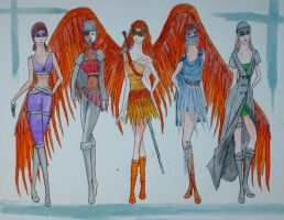 The Angelics by Addice
