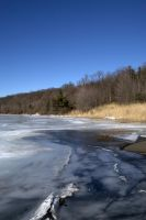 Stock - Frozen Lake by nighty-stock