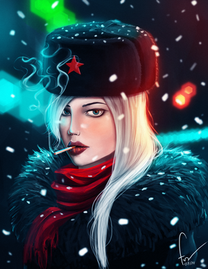 Russian girl by we-like-you