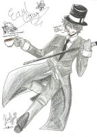 Dick Figures : Earl Gray by NatsureiKuni