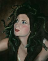 The Turning of Medusa by armusik