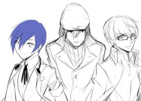 persona q: front line by dodomir23