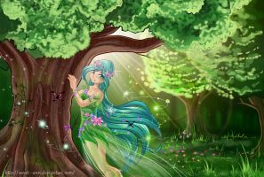 AT + Forest Dryad+ by Sweet--Ann