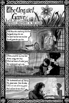 The Unquiet Grave pg 1 by tedwoodsart