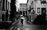 A Lonely Lady In Brusssels by bulentcalli
