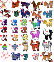 Un-Loved Adopts by adoptables100