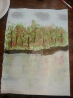 Some watercolor I did. by Calypso399