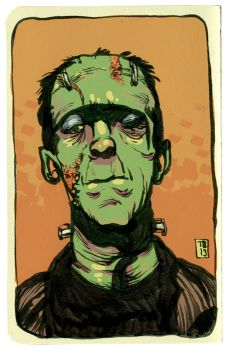 Frankenstein's Monster by TimBeard