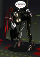 Bayonetta, such a whitch. by Rathan-Marxx