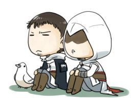 Altair and Malik by tatsuri
