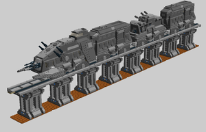 LEGO Star Wars - Armored Hover Train by Aryck-The-One