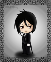 Coloring: Chibi Sebby by CazyBunny