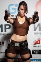 Lara Croft LEGEND9 - Igromir'12 by TanyaCroft