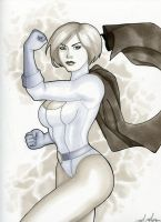 Power Girl by Indy-Lytle