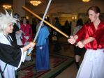 Katsucon14: Toshiro vs Kenshin by Cosplay-Pics-Account