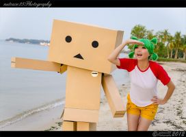 Yotsuba - Look there by nutcase23