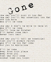 Gone by Foreststone