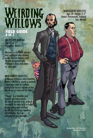 WEIRDING WILLOWS - DR. MOREAU and MONTY DOOLITTLE by DeevElliott