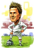 Beckham caricature by aaronwty