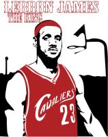 Lebron James by garrett-btm