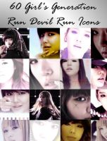 60 Run Devil Run SNSD Icons by YseulTristan