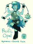 pacific opal fusion by summermon