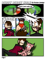 Diggy Diggy Hole: Page 1 by IllustriousVar