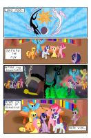 MLP - PONY WARS - THUNDERBOLT 001 by Leon-Z
