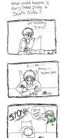 If Harry Potter find a DN by HasamiKirima
