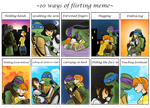 TMNT-Flirting Meme by FlashyFashionFraud