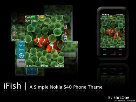iFish a Nokia S40 theme by ShraOne