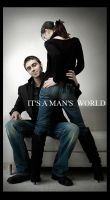 It's a man's world by NHdesign