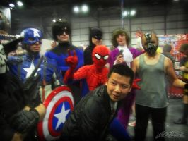 Justice Avenging Friends - Comic Con 2013 by F-Stormer-3000